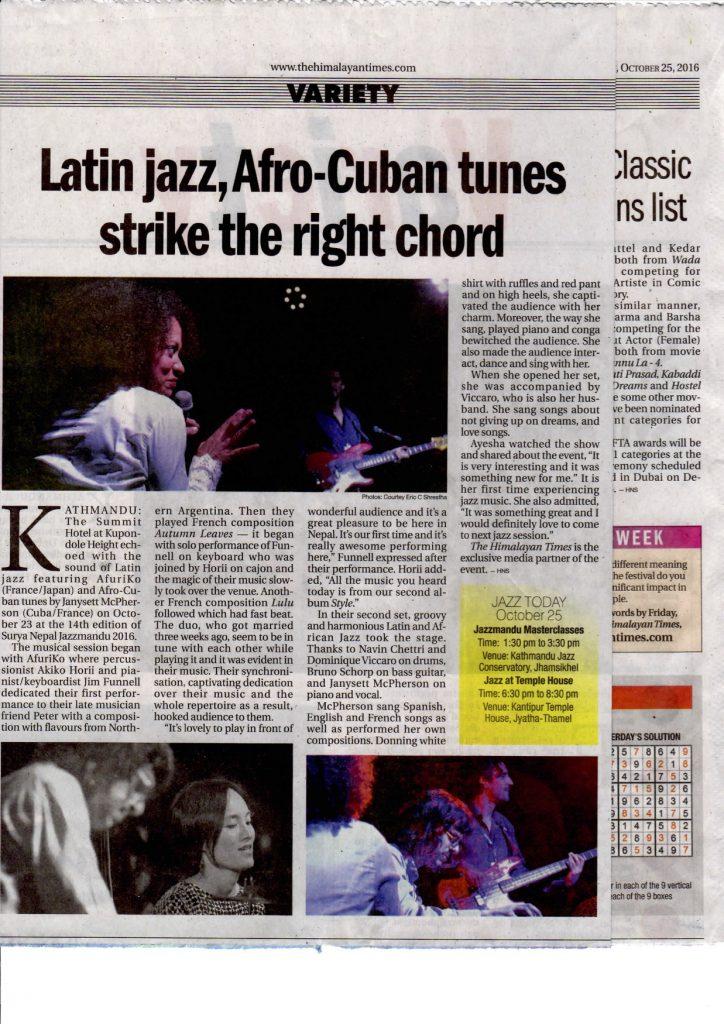 Latin jazz, Afro-Cuban tunes strike the right chord